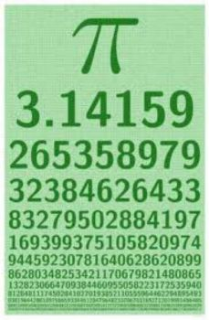 THEME: Thiongs with numbers: pi chart