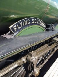 Flying Scotsman name plate