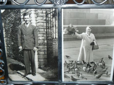 My Grandfather and Grandmother.
