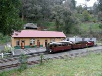 Walhalla VIC - Australia - Train Station - Ex Mining Town