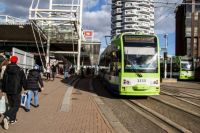 london 22-02-2014 croydon tramlink 2533 & 2538 at east croydon station 02