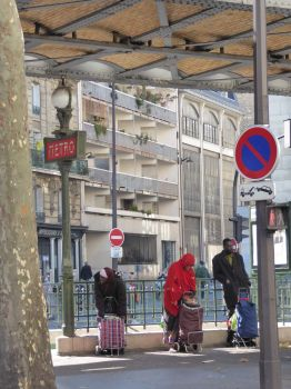 Stalingrad Metro entrance, Paris