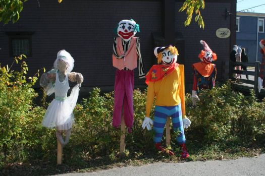 scarecrows in Nova Scotia