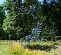 Sculpture exhibition at Greys Court Oxfordshire.