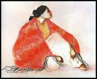 Summer Lady ~ RC Gorman (Navajo)