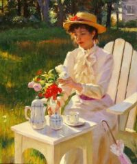 Gregory Frank Harris painting 1