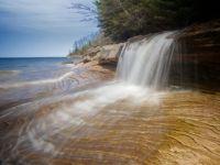 Miners Beach Falls