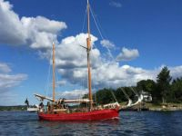 Red Sailing Ship Stockholm, Sweden, small