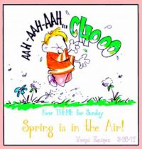 NEW  THEME  FOR  SUNDAY  ~  ''Spring is in the Air''