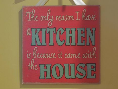 This hangs in my kitchen!