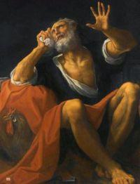 Ludovico Carracci (Italian, 1555–1619), The Penitent Saint Peter