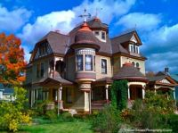A beautiful restored Victorian home.