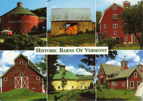 Theme: Farm Buildings - Historic Vermont Barns