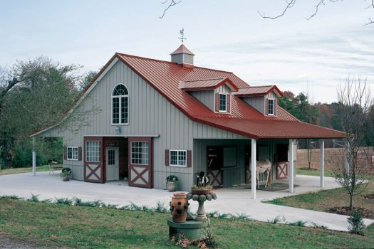 Solve Horse Barn With Living Quarters By Morton Building