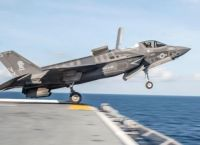 F-35 Lightning II Short Takeoff from Carrier