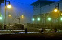 Syracuse Fog, Theater District