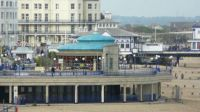 the bandstand, Eastbourne