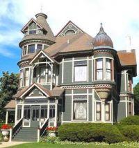 Victorian Mansion in Port Huron Michigan