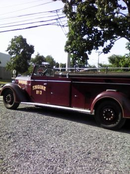 old fire engine CC