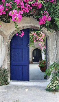 Blue Door at Gate