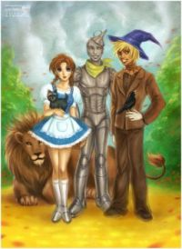 wizard of oz by dakaezu
