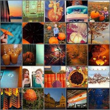 thanksgiving mosaic by anjie on flickr
