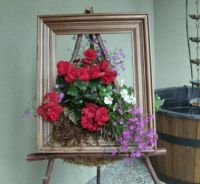 My picture frame planter