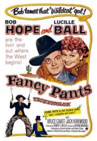 FANCY PANTS - 1950 MOVIE POSTER  BOB HOPE, LUCILLE BALL