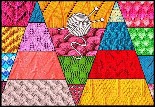 Knitting Stitches Crossword Clue : Knitting stitches 70 pieces jigsaw puzzle