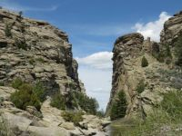 Devil's Gate in Wyoming