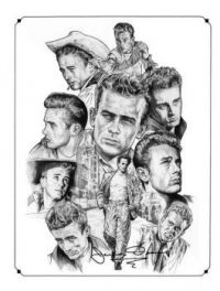 "Theme ""Actors""  James Dean"