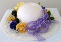 white easter bonnet