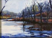 New River in winter.