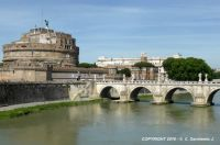 ITALY – Rome – Castel Sant'Angelo and Ponte Sant'Angelo