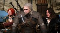 The Witcher 3 Wild Hunt - Geralt with Triss and Yennefer