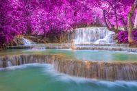 Amazing Waterfalls:  Laos