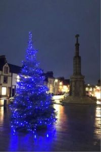 Christmas in Wigtown, Scotland