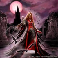 blood moon by anne stokes