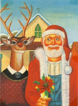 American Gothic  ~  Christmas