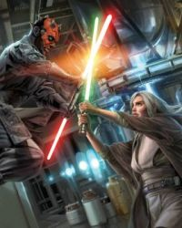 Star Wars: Darsha Assant Vs. Darth Maul