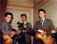 Fifteen year old Paul McCartney and friends