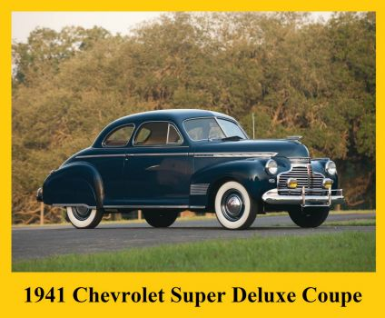 1941 Chevrolet Super Deluxe Coupe