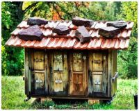 Beehive House in the Forest