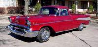 1957 Chevrolet El Camino red