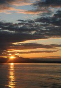 An Ocean Sunset