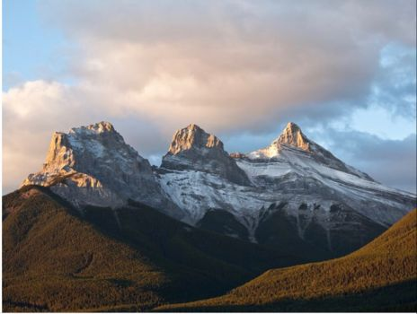 Three sisters..... Canadian Rockies.