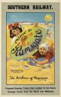 Themes Vintage Travel Poster - Ramsgate