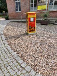 Briefkasten Christkindpostamt Himmelpforten, Niedersachsen, Deutschland