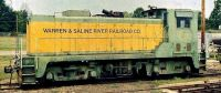 Warren & Saline River Railroad. Warren, AR. August 07, 1988