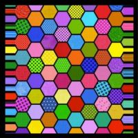 Colorful Hexes!  (L)